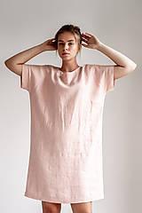 Šaty - Ľanové šaty Freedom - 11745883_