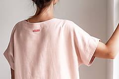 Šaty - Ľanové šaty Freedom - 11745884_