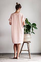 Šaty - Ľanové šaty Freedom - 11745885_