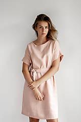 Šaty - Ľanové šaty Freedom - 11745888_
