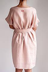 Šaty - Ľanové šaty Freedom - 11745891_
