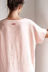 Šaty - Ľanové šaty Freedom - 11745900_