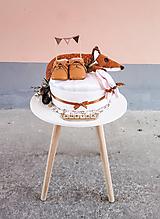 Detské doplnky - LE PETIT plienková torta - 11742318_