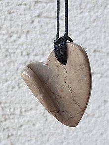 Náhrdelníky - Linecké srdce - 11744262_