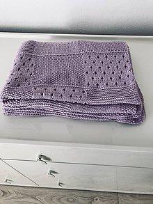 Textil - Detská deka 100% merino - 11743295_