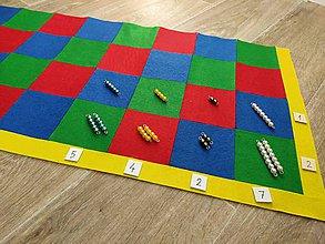 Hračky - Montessori podložka na násobenie - 11743820_