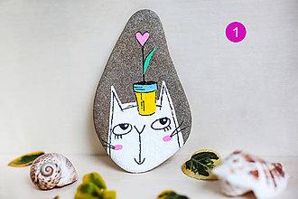 Dekorácie - Mačička Bibi (Vzor 2) - 11745042_