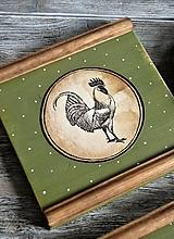 Obrázky - Vidiecke obrázky sliepka a kohút - 11741837_