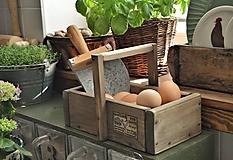 Nábytok - Debnička na vajíčka - 11744967_