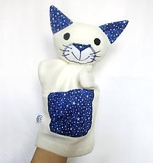 Hračky - Maňuška mačka - Mačička z Polnočného lesa - 11750622_