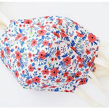 Rúška - Tvarované dvojvrstvové dámske rúško - 11749225_