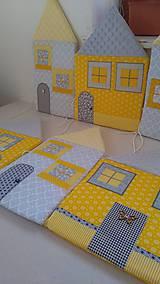 Úžitkový textil - Zástena za posteľ č. 5 - 11749170_