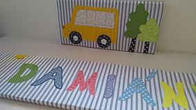 Úžitkový textil - Zástena za posteľ č. 7 - 11749250_