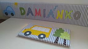 Úžitkový textil - Zástena za posteľ č. 7 - 11749271_