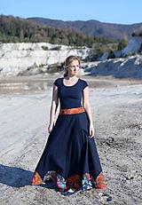 Sukne - ľanová sukňa Mína- AKCIA! - 11747846_