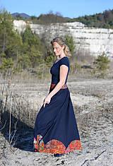 Sukne - ľanová sukňa Mína- AKCIA! - 11747859_