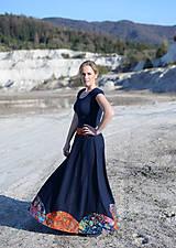 Sukne - ľanová sukňa Mína- AKCIA! - 11747869_