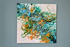 Obrazy - Abstraktná kompozícia 1., maľba, akryl - 11746938_