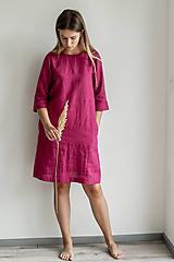Ľanové šaty Monika