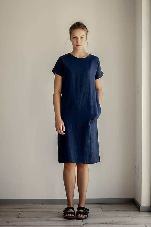 Šaty - Ľanové šaty Marinero - 11754283_