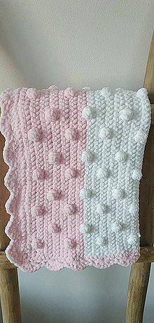 Textil - Háčkovaná deka - 11750785_