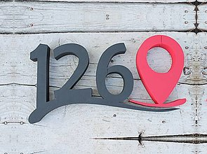 Tabuľky - Popisné číslo: Google Street Elegant - 11752463_