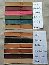 Peňaženky - Veľká dámska kožená peňaženka Pirula (Červená) - 11751359_