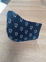 Rúška - rúško 2-vrstvové na vkladanie  tvarované - 11751765_