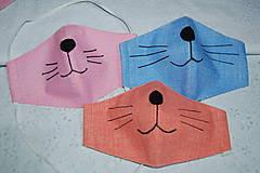Rúška - rúško mačička - 11754764_