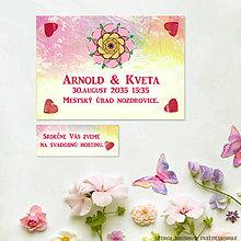 Papiernictvo - Svadobné oznámenia a pozvánky k svadobnému stolu Harmónia - 11754404_