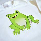 Detské oblečenie - Body žabka - 11757628_