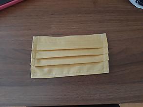 Rúška - Rúško, 2 vrstvy, drôtená výstuž okolo nosa! - 11758638_