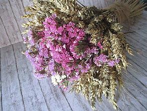 Dekorácie - Sušená kytica - 11755730_