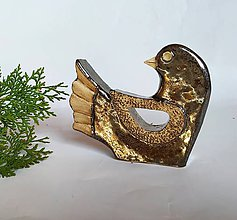 Dekorácie - dekorácia Vtáčik - 11755228_