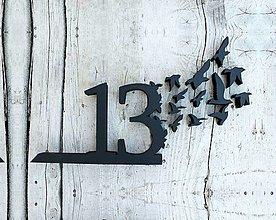 Tabuľky - Popisné číslo: Kŕdeľ - 11758120_