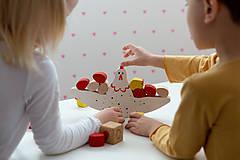 Hračky - Balančná hra SLIEPOČKA KIKO - 11758142_