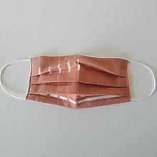 Rúška - Textilné rúško na tvár - 11755397_