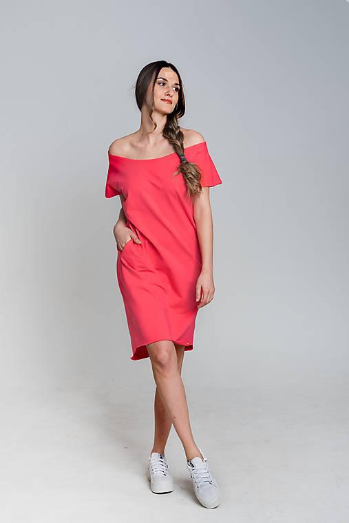 Šaty - Teplákové šaty (S) - 11758415_