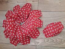 Rúška - Dámske bavlnené ruško 3vrstvove  - 11757295_
