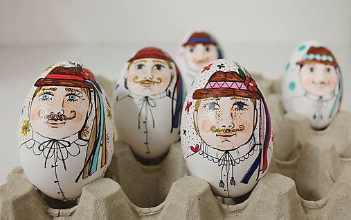Dekorácie - husacie vajíčko - Mišo  - 11756471_