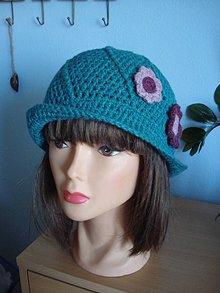 Čiapky - štýlový klobučik - 11759219_