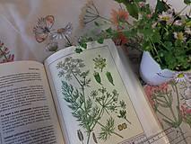 """Rúška - Ručne maľované ľanové rúška s priestorom na filter kolekcia """" HERBÁR """" - 11759518_"""