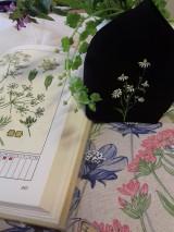 """Rúška - Ručne maľované ľanové rúška s priestorom na filter kolekcia """" HERBÁR """" - 11759521_"""