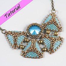 Návody a literatúra - Fotonávod - náhrdelník Motýlik - 11760574_
