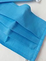 Rúška - Rúška z filtračnej tkaniny (Uchytenie na šnúrky) - 11760511_