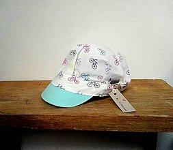 Detské čiapky - ŠILTOFKA bez plachtičky - ihneď k odberu - 11760977_