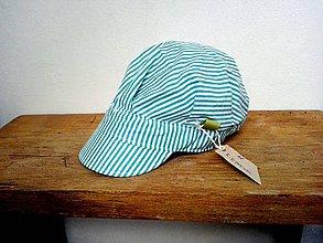 Detské čiapky - ŠILTOFKA bez plachtičky - ihneď k odberu - 11760978_