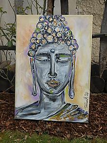Obrazy - Buddhov zlatý bozk - 11760833_