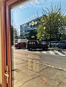 Grafika - Branding kaviarne Frida Art Café - 11764365_