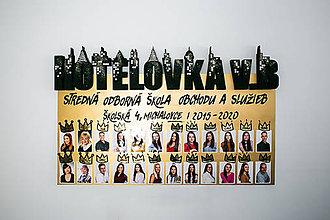 Nezaradené - Maľované tablo Hotelovka - 11765582_